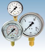 Bourdon tube pressure gauges from DRUCK & TEMPERATUR Leitenberger GmbH - GERMANY