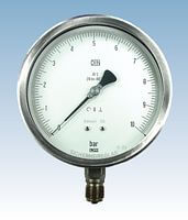 Laboratory Test Pressure Gauges from DRUCK & TEMPERATUR Leitenberger GmbH - GERMANY