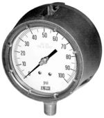 Safety pressure gauge model 01.30 from DRUCK & TEMPERATUR Leitenberger GmbH - GERMANY