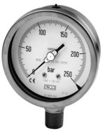 All st.st. pressure gauge NACE norm, Model 01.36, from DRUCK & TEMPERATUR Leitenberger GmbH - GERMANY