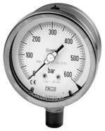Safety pressure gauge NACE norm, Model 01.40, from DRUCK & TEMPERATUR Leitenberger GmbH - GERMANY