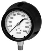 Safety pressure gauge NACE norm, model 01.60, from DRUCK & TEMPERATUR Leitenberger GmbH - GERMANY