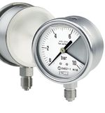 Type 01.20-DS 63 All st.st. SAFETY bourdon tube pressure gauges DS 63