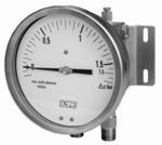 Diaphragm differential pressure gauge Model 02.13 from DRUCK & TEMPERATUR Leitenberger GmbH - GERMANY