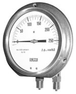 Diaphragm differential pressure gauge Model 02.14 from DRUCK & TEMPERATUR Leitenberger GmbH - GERMANY