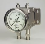 Diaphragm differential pressure gauge Model 02.15 from DRUCK & TEMPERATUR Leitenberger GmbH - GERMANY