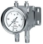 Diaphragm differential pressure gauge Model 02.17 from DRUCK & TEMPERATUR Leitenberger GmbH - GERMANY