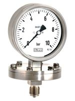 128 / 328 - All stainless steel Diaphragm Pressure Gauges