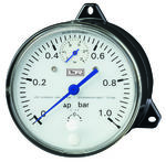 Membrane differential pressure gauge Model DDP-2 from DRUCK & TEMPERATUR Leitenberger GmbH - GERMANY