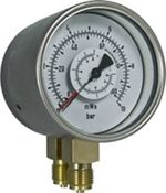 Bourdon tube differential pressure gauge Model DR from DRUCK & TEMPERATUR Leitenberger GmbH - GERMANY