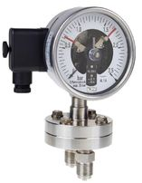 Differential pressure gauge DS 100, DS 160, with electric contacts, from DRUCK & TEMPERATUR Leitenberger GmbH - GERMANY
