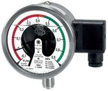 SF6 monitoring pressure gauges with electric contacts from DRUCK & TEMPERATUR Leitenberger - GERMANY