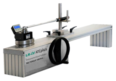 LR-Cal LFC-ATCplus mechanical support with LR-Cal LFC 80 torque meter