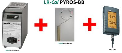 LR-Cal PYROS-BB temperature calibrator with Black Body insert and reference thermometer