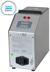 LR-Cal PYROS-375 dry block temperature calibrator with DNV-GL type approval