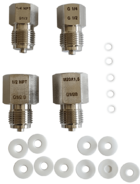 "LSP-ADAPTER-SET set of adapters for 1/2"" BSP female pressure ports"