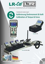 Brochure Torque & Force from DRUCK & TEMPERATUR Leitenberger GmbH - GERMANY