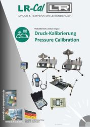 LR-Cal Brochure Pressure Calibration